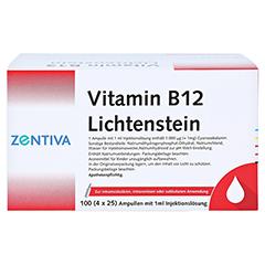 Vitamin B12 1.000 µg Lichtenstein Ampullen 100x1 Milliliter - Rechte Seite