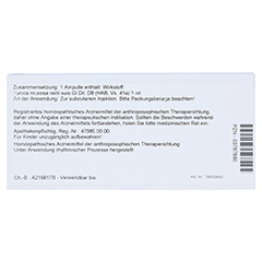 TUNICA mucosa recti GL D 8 Ampullen 10x1 Milliliter N1 - Rückseite