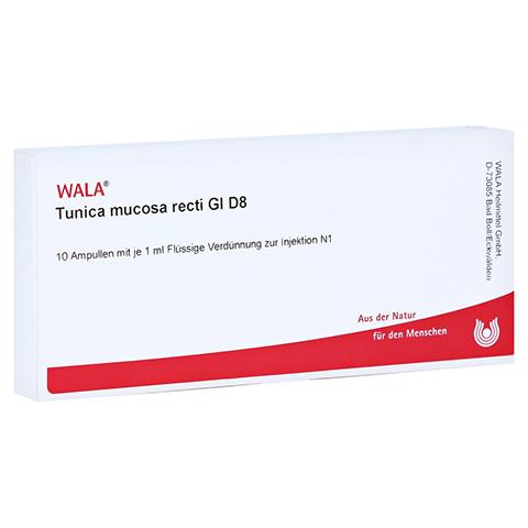 TUNICA mucosa recti GL D 8 Ampullen 10x1 Milliliter N1