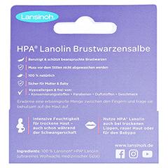 Lansinoh HPA Lanolin 10 Milliliter - Rückseite