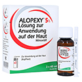 ALOPEXY 5% Loesung zur Anwendung auf der Haut 3x60 Milliliter