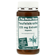 TEUFELSKRALLE 225 mg Extrakt Kapseln 200 Stück