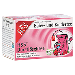 H&S Bio Durstlöschtee Baby- u.Kindertee Filterbtl. 20 Stück