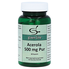 ACEROLA 500 mg pur Kapseln 60 Stück