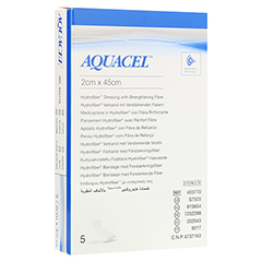 AQUACEL HYDROsorption 2x45 cm Tamponaden 5 Stück