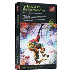 BORT EpiBasic Sport Bandage M schwarz 1 Stück