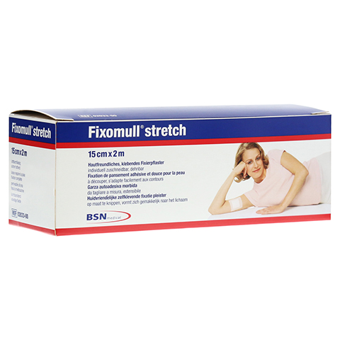 FIXOMULL stretch 15 cmx2 m CPC 1 Stück
