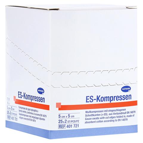 ES-KOMPRESSEN steril 5x5 cm 8fach CPC 25x2 Stück