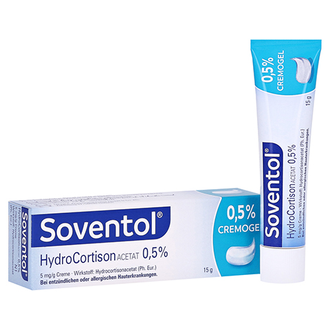 Soventol Hydrocortisonacetat 0,5% 15 Gramm