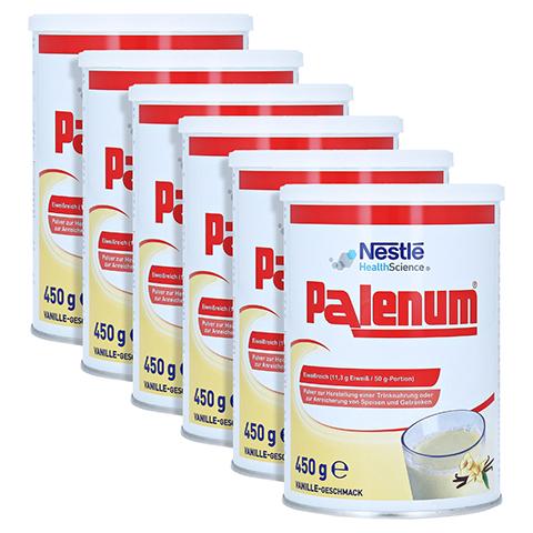 PALENUM Vanille Pulver 6x450 Gramm
