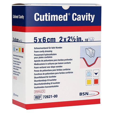 CUTIMED Cavity Schaumverb.5x6 cm nicht haftend 10 Stück