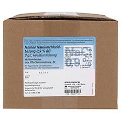 ISOTONE NaCl Lösung 0,9% BC Plastikfl.Inj.-Lsg. 10x100 Milliliter N2 - Vorderseite
