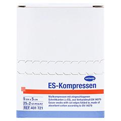 ES-KOMPRESSEN steril 5x5 cm 8fach CPC 25x2 Stück - Vorderseite