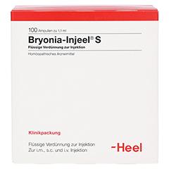 BRYONIA INJEEL S Ampullen 100 Stück N3 - Vorderseite