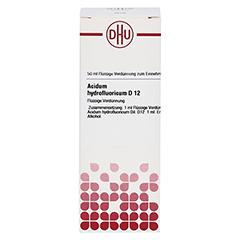 ACIDUM HYDROFLUORICUM D 12 Dilution 50 Milliliter N1 - Vorderseite