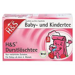 H&S Bio Durstlöschtee Baby- u.Kindertee Filterbtl. 20 Stück - Vorderseite