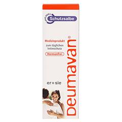Deumavan Schutzsalbe Lavendel 125 Milliliter - Vorderseite