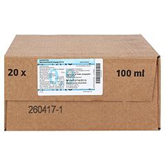 KOCHSALZLÖSUNG 0,9% zur Injektion 20x100 Milliliter N3 - Vorderseite