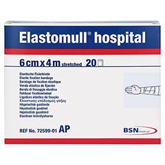 ELASTOMULL hospital 6 cmx4 m elast.Fixierb.weiß 20 Stück - Vorderseite