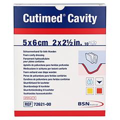 CUTIMED Cavity Schaumverb.5x6 cm nicht haftend 10 Stück - Vorderseite