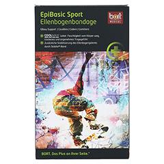 BORT EpiBasic Sport Bandage M schwarz 1 Stück - Vorderseite