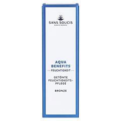 SANS SOUCIS MOISTURE Aqua Benefits Getönte Tagespflege Bronze 40 Milliliter - Vorderseite