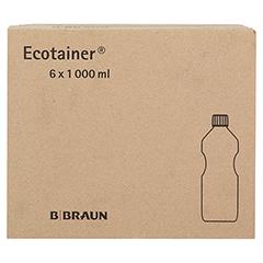 RINGER LÖSUNG B.Braun Spüllsg.Ecotainer 6x1000 Milliliter - Linke Seite