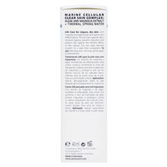 SANS SOUCIS AQUA CLEAR SKIN 24h Pflege für unreine, trockene Haut 40 Milliliter - Linke Seite