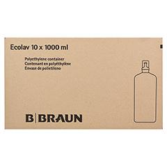 AQUA B.Braun Spüllösung Ecolav 10x1000 Milliliter - Linke Seite