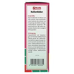 DETIA Rattenköder Warfarin 500 Gramm - Rechte Seite