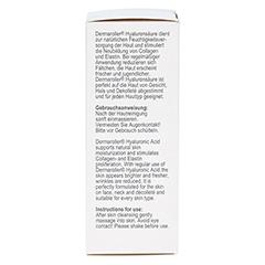 DERMAROLLER Hyaluronic Acid Hyaluronsäure Spender 30 Milliliter - Rechte Seite