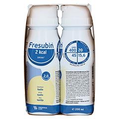 FRESUBIN 2 kcal DRINK Vanille Trinkflasche 4x200 Milliliter - Rechte Seite