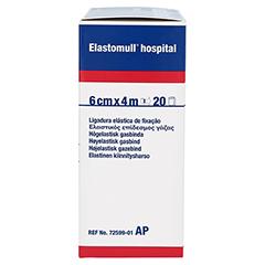 ELASTOMULL hospital 6 cmx4 m elast.Fixierb.weiß 20 Stück - Rechte Seite