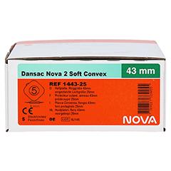 DANSAC Nova 2 Soft Convex Basispl.gew.RR43 25mm 5 Stück - Rechte Seite