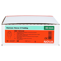 DANSAC Nova 2 FoldUp Ausstr.B.2t.stand.RR43 haut 10 Stück - Rechte Seite