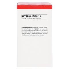 BRYONIA INJEEL S Ampullen 100 Stück N3 - Rechte Seite