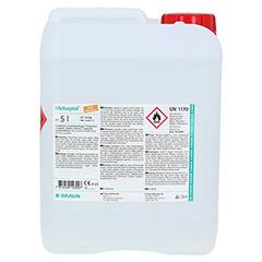 MELISEPTOL Schnelldesinfektion Kanister 5 Liter - Rückseite
