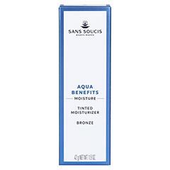 SANS SOUCIS MOISTURE Aqua Benefits Getönte Tagespflege Bronze 40 Milliliter - Rückseite