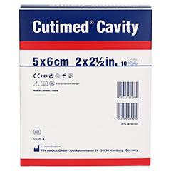 CUTIMED Cavity Schaumverb.5x6 cm nicht haftend 10 Stück - Rückseite