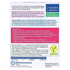 Doppelherz aktiv Vitamin B12 Direkt 20 Stück - Rückseite