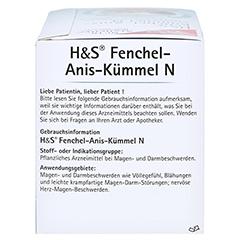 H&S Fenchel-Anis-Kümmel N 20x2.0 Gramm - Rechte Seite