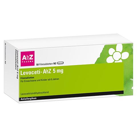Levoceti-AbZ 5mg 50 Stück N2
