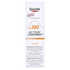 EUCERIN Sun Actinic Control MD LSF 100 Fluid + gratis Eucerin After Sun 50 ml 80 Milliliter - Rückseite