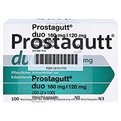 Prostagutt duo 160mg/120mg 200 Stück N3 - Vorderseite