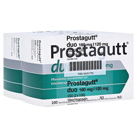 Prostagutt duo 160mg/120mg 200 Stück N3