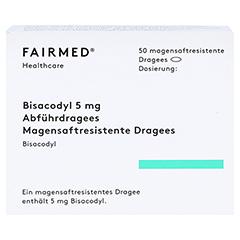 Bisacodyl 5mg Dragees 50 Stück - Vorderseite