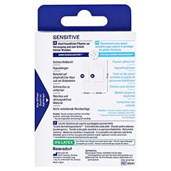 HANSAPLAST Sensitive Pflast.hypoallergen Strips 20 Stück - Rückseite