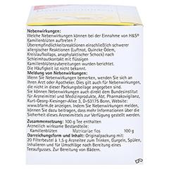 H&S Kamillenblüten 20x1.5 Gramm - Linke Seite