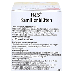 H&S Kamillenblüten 20x1.5 Gramm - Rechte Seite