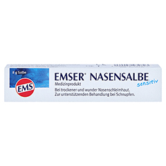 Emser Nasensalbe Sensitiv 8 Gramm - Vorderseite